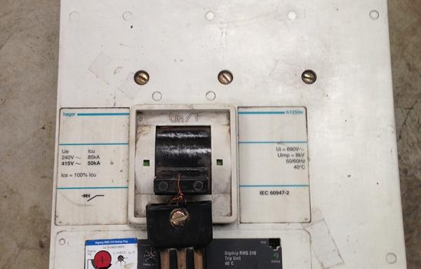 Automático diferencial Hager 1.250 Amperios
