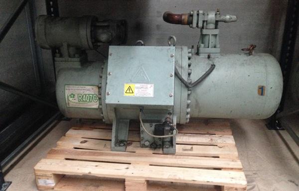Compresor de tornillo Fu Sheng