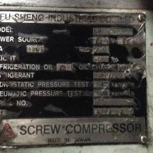 Compresor tornillo fu sheng