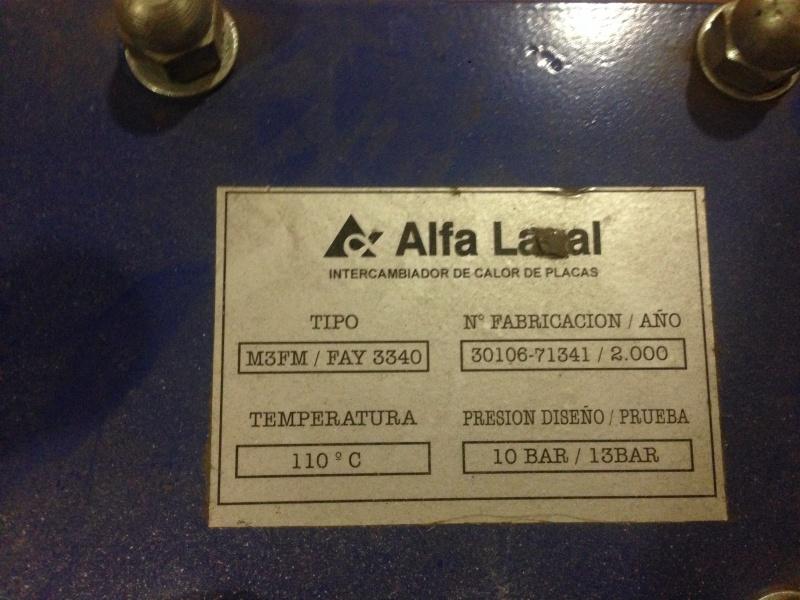 intercambiador de placas alfa laval