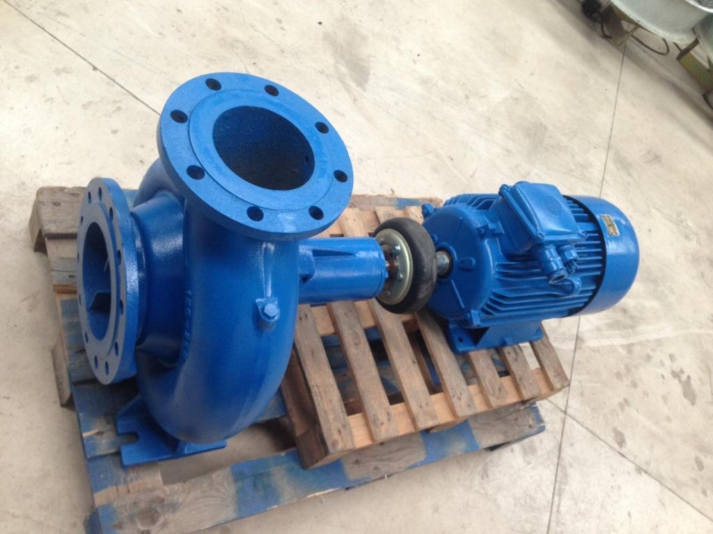 Bomba centrífuga 20 cv - Orlando Fernandez S L  - Instalación y Reparación  de maquinaria de climatización y frío industrial aplicado a la Enología